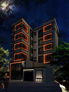 طراحی معماری مجتمع مسکونی بوعلی-شرکت مهندسی تکا1